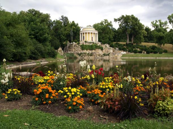 Парк во дворце Эштерхази