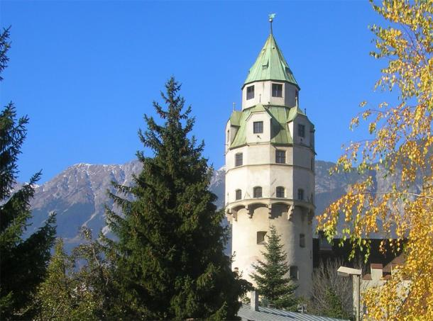 Монетная башня в Халле