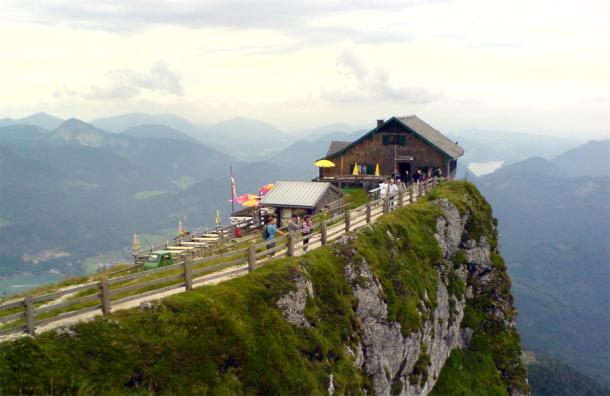 На верщине горы Шафберг