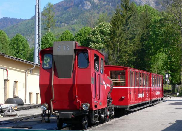 Поезд в Санкт Вольфганге