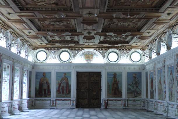 Замок Амбрас Испанский зал