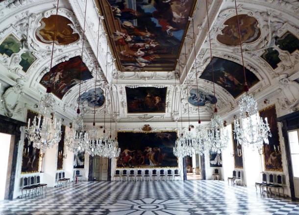 Зал планет замка Эггенберг