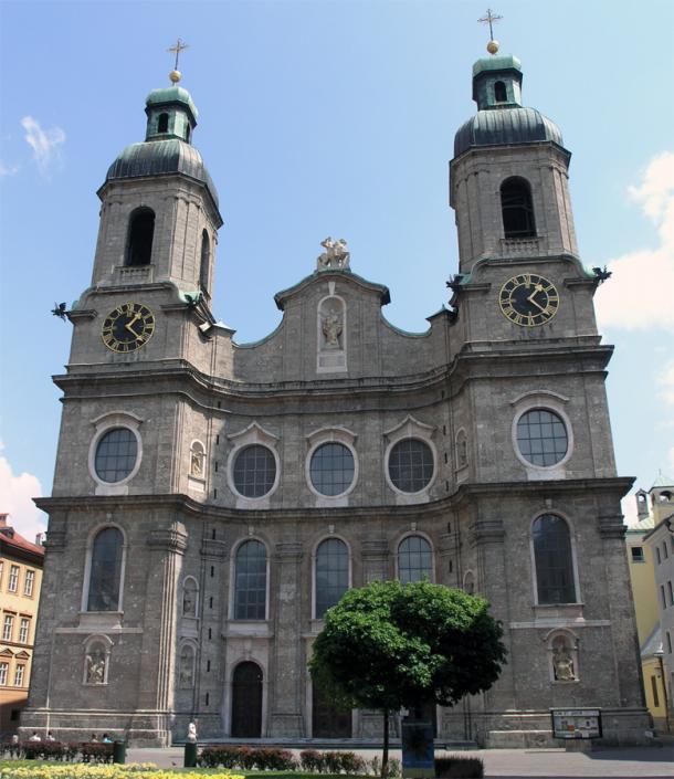 Кафедральный собор в Инсбруке