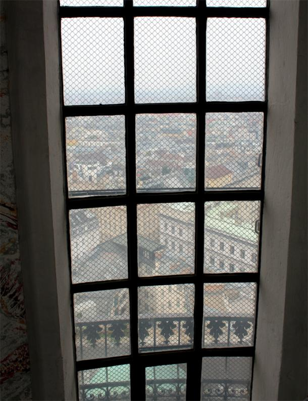Окно на куполе, вид на Вену