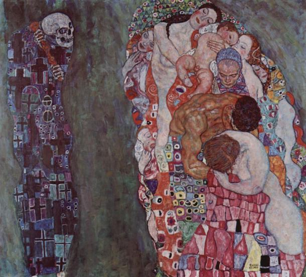 Густав Климт Жизнь и Смерть