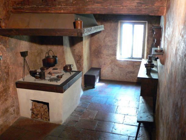 Кухня в доме Моцарта