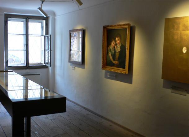 Портреты в доме Моцарта