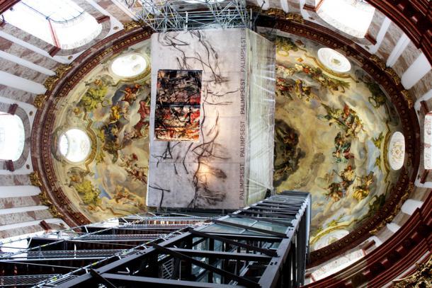 Купол с лифтом и смотровой площадкой
